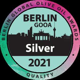 Premio Berlin Global Olive oil Awards Plata