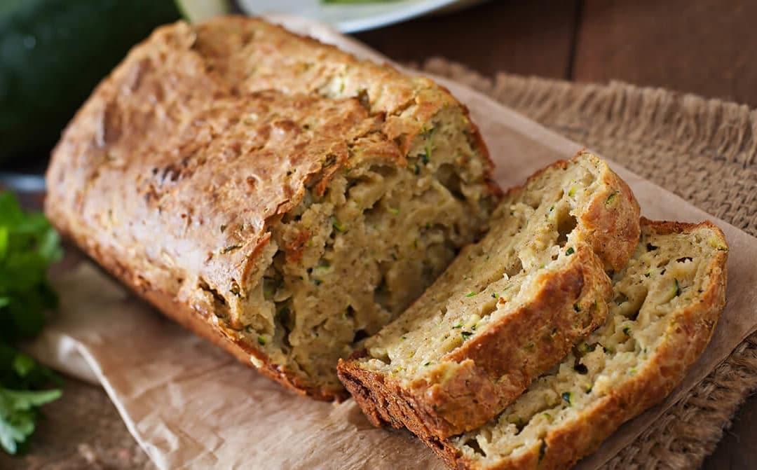 Pan de calabacín y especias