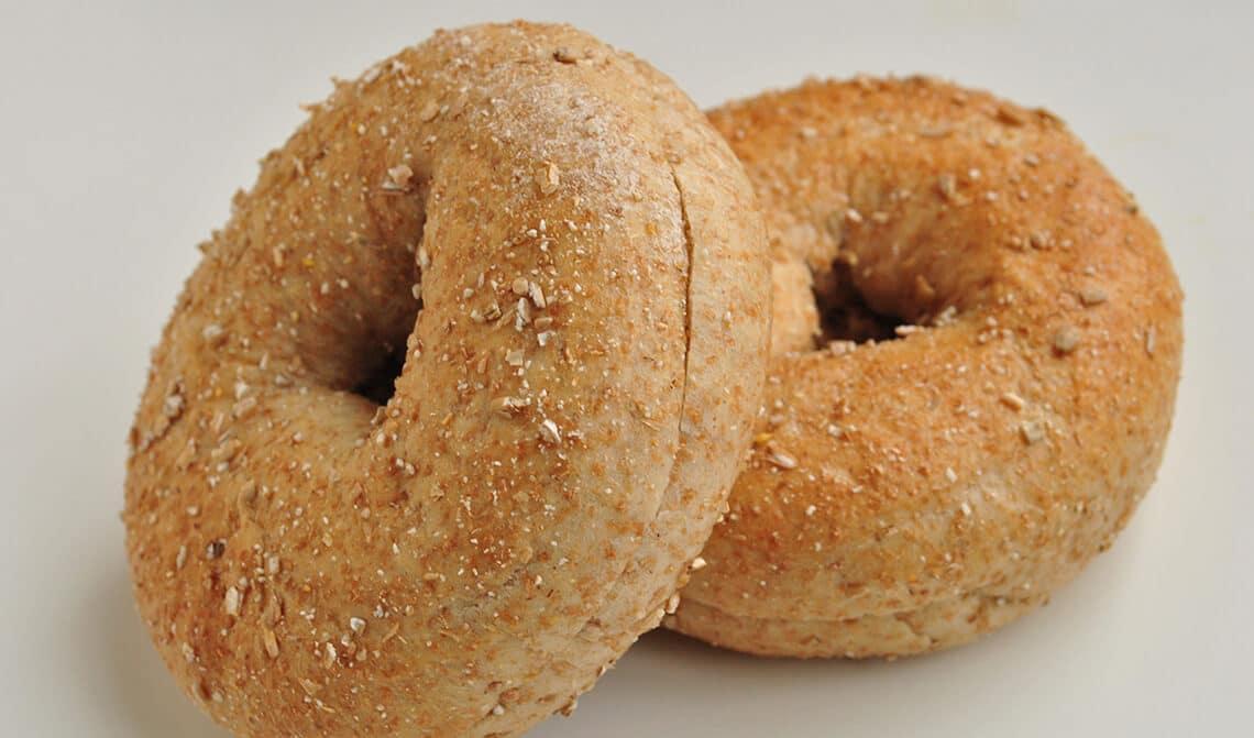 Rosca de pan de mostaza