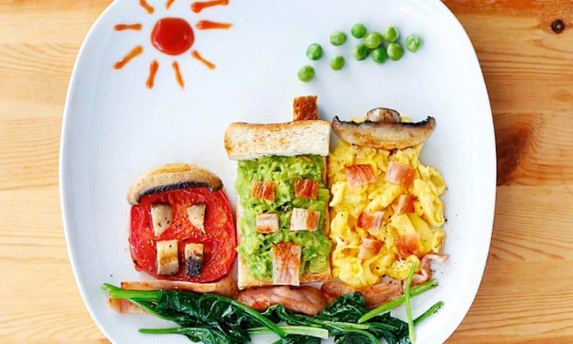 Samantha Lee: food art para que los niños coman