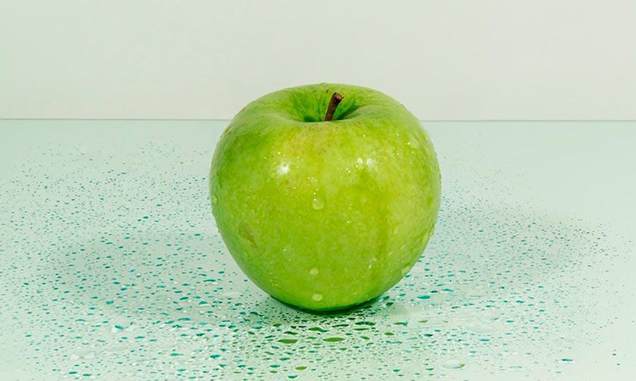 Manzana lavada