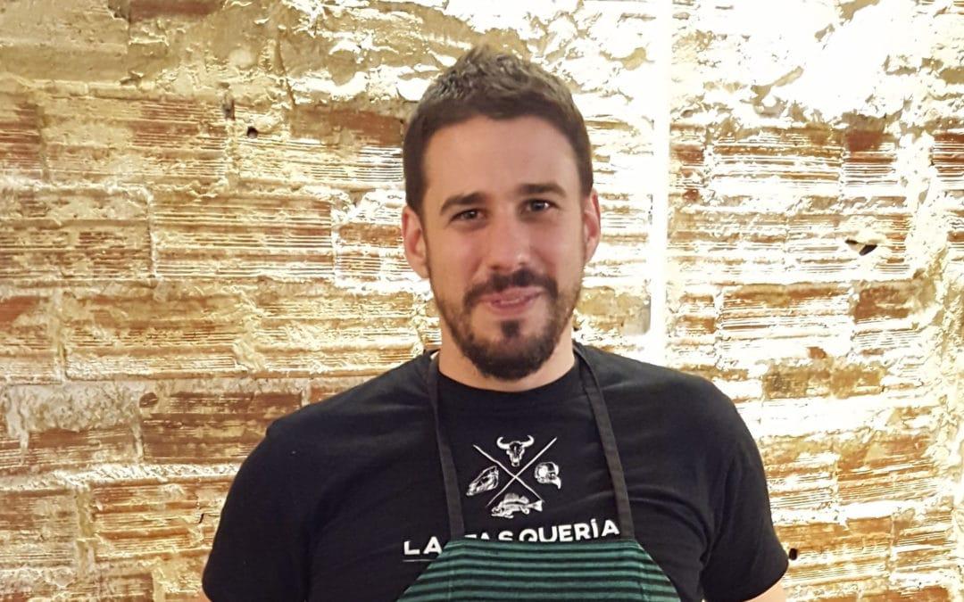 Javi Estévez, chef y propietario de La Tasquería