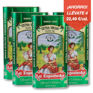 aceite de oliva virgen extra lata 5 litros