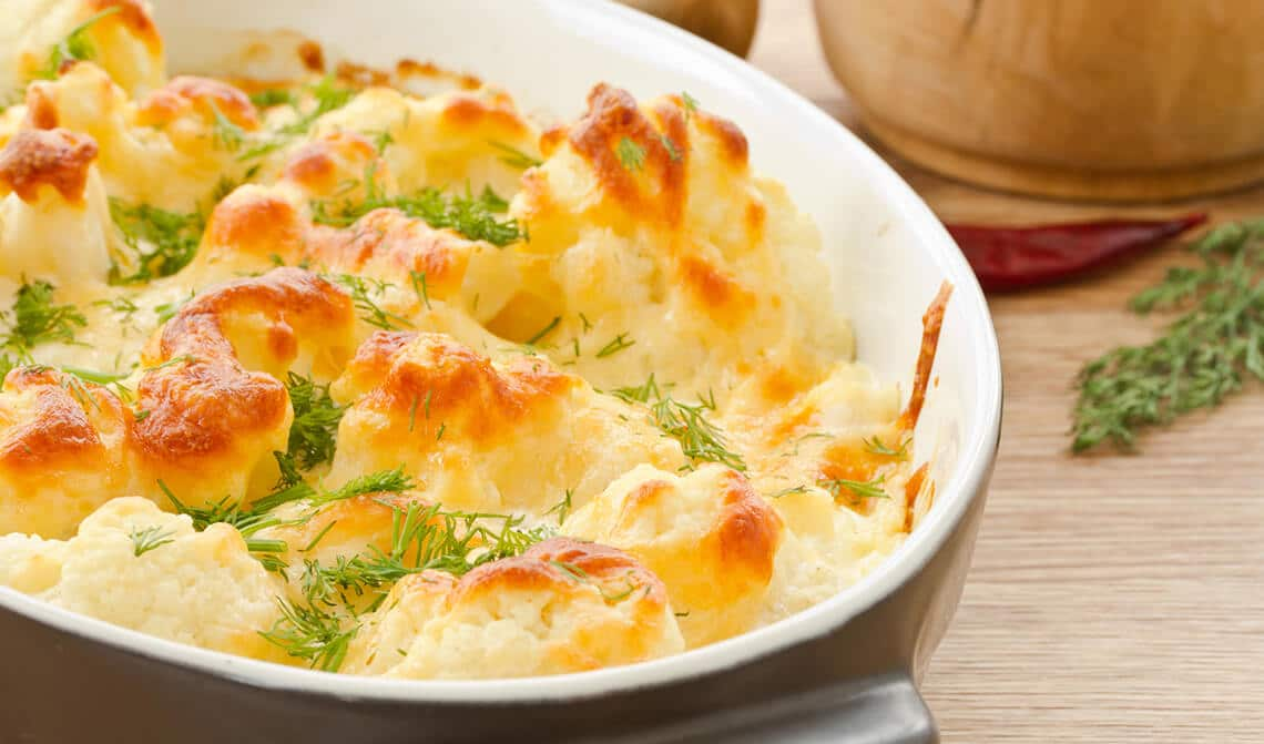 gratinado-de-coliflor-y-espinacas-con-queso-azul