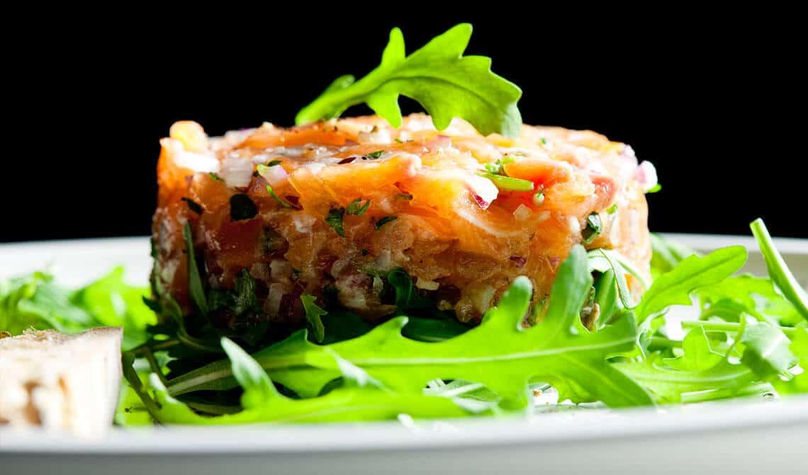 Tartar-salmón-marinado