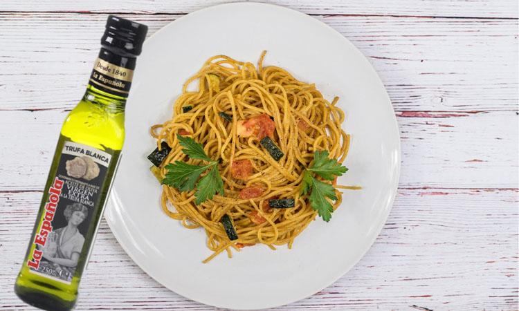 Usos en la cocina del aceite de oliva a la trufa